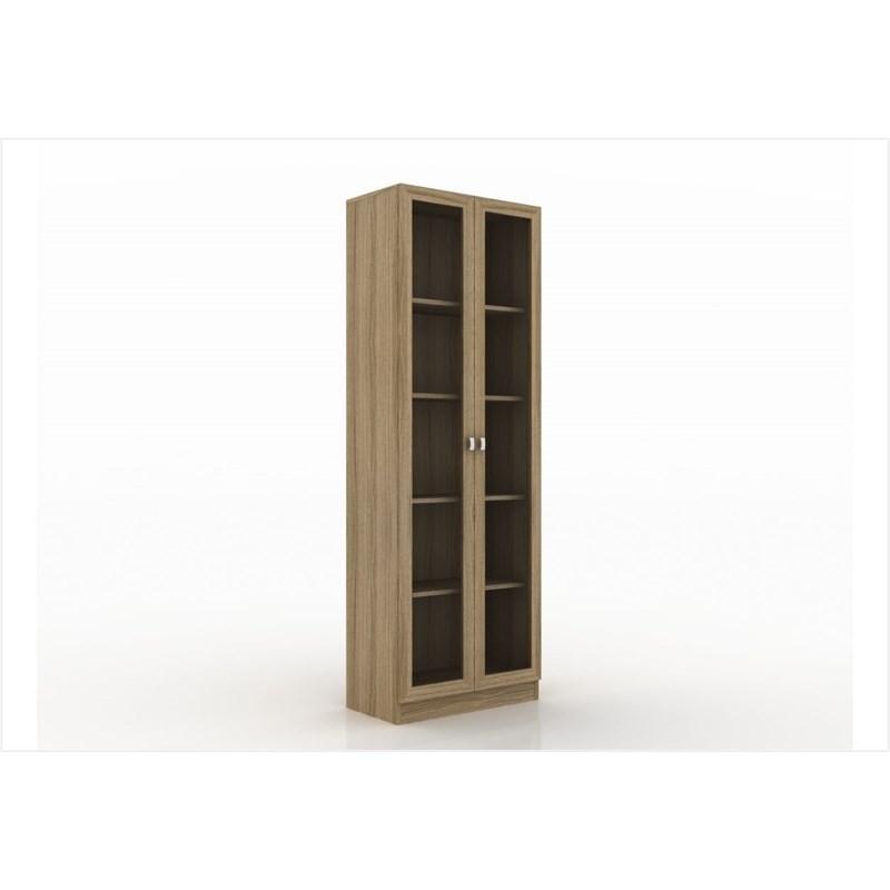 Armário com 04 prateleiras para Home Office ME4115 Amendoa - Tecno Mobili