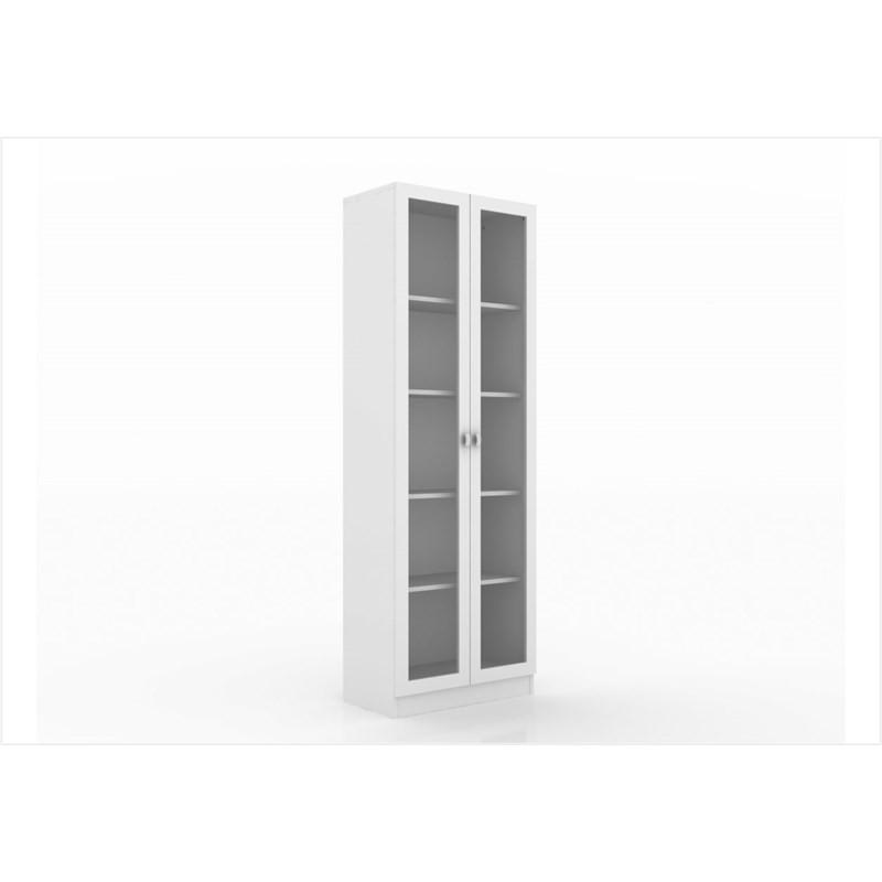 Armário com 04 prateleiras para Home Office ME4115 Branco - Tecno Mobili
