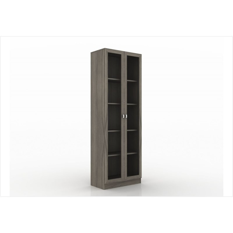 Armário com 04 prateleiras para Home Office ME4115 Carvalho - Tecno Mobili