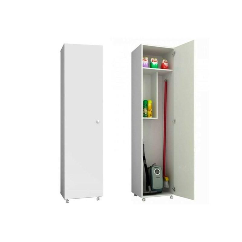 Armário Multiuso 01 Porta AM3100 Branco - Tecno Mobili