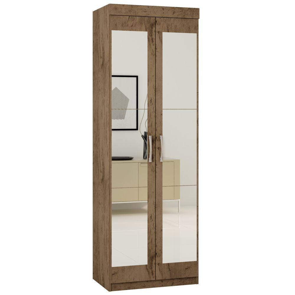 Armário Multiuso 7020 2 Portas com Espelho Araplac