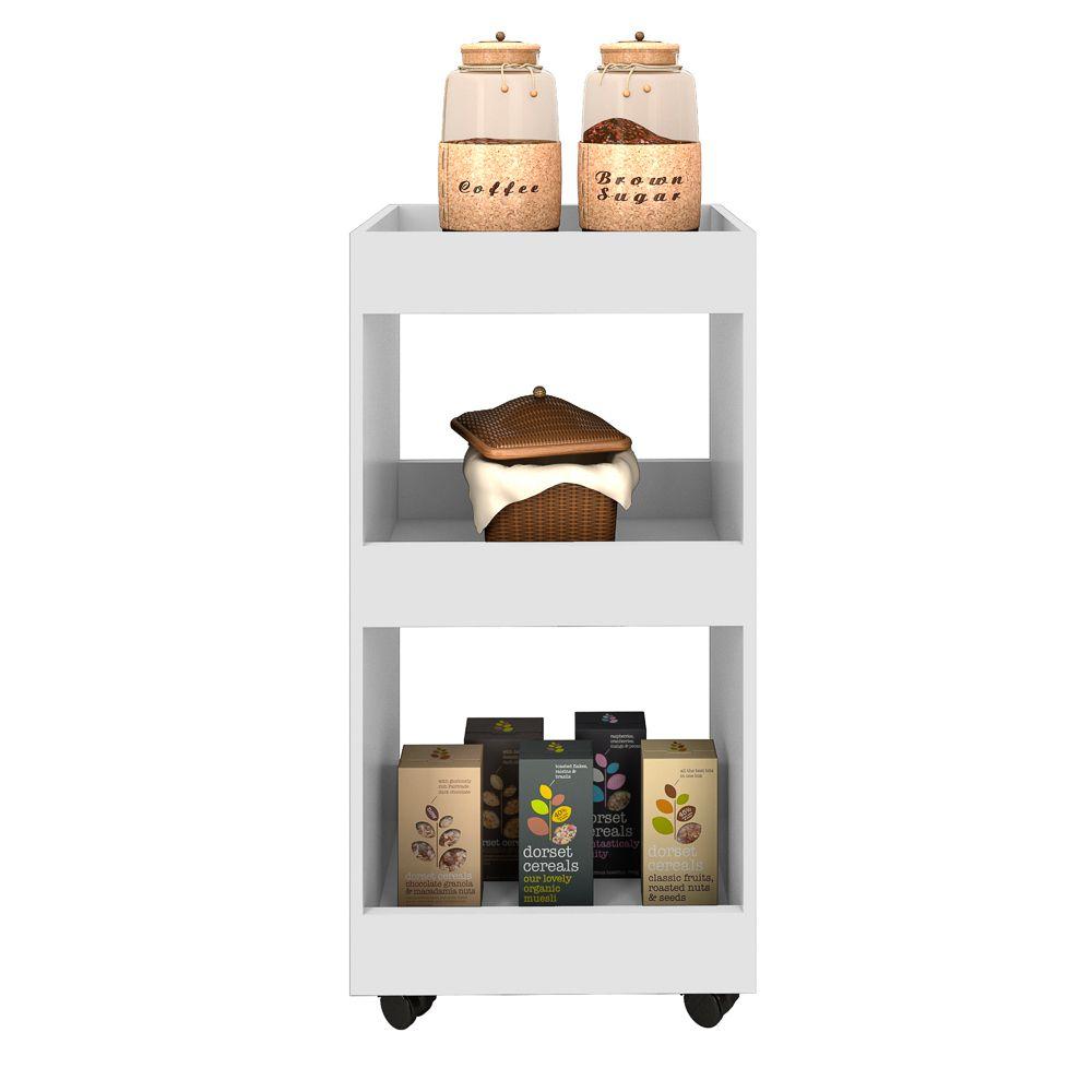 Armário Multiuso para Cozinha com Rodízios L03 Seul  - Mpozenato