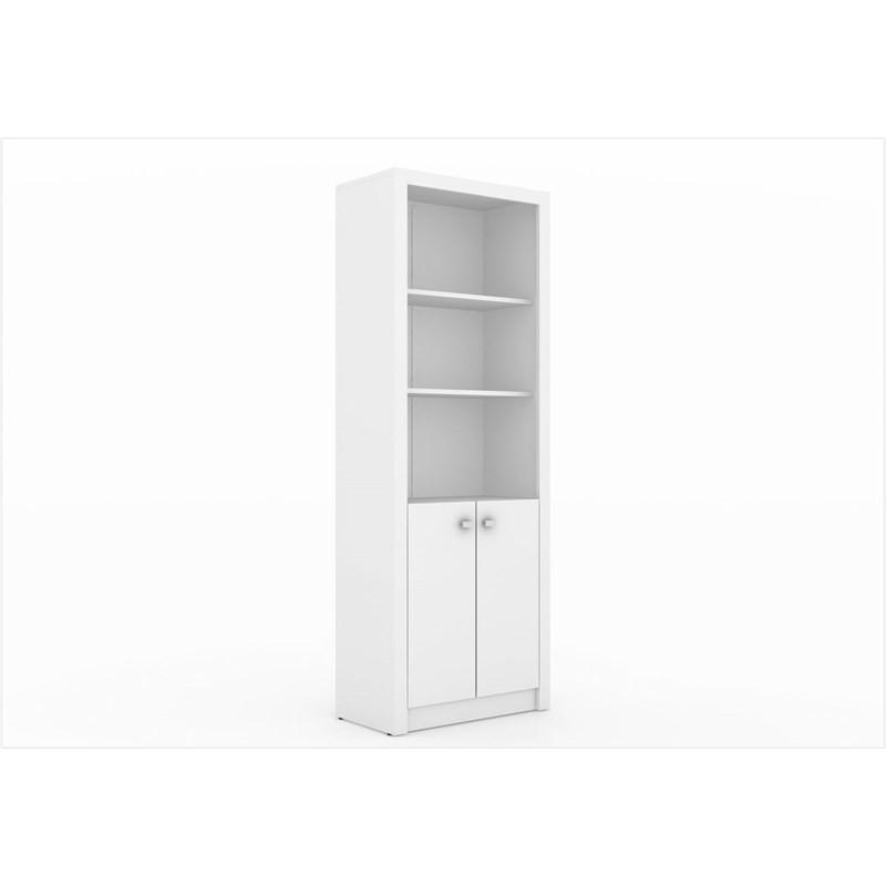Armário Organizador para Home Office de 171,5 cm de Altura ME4110 Branco - Tecno Mobili