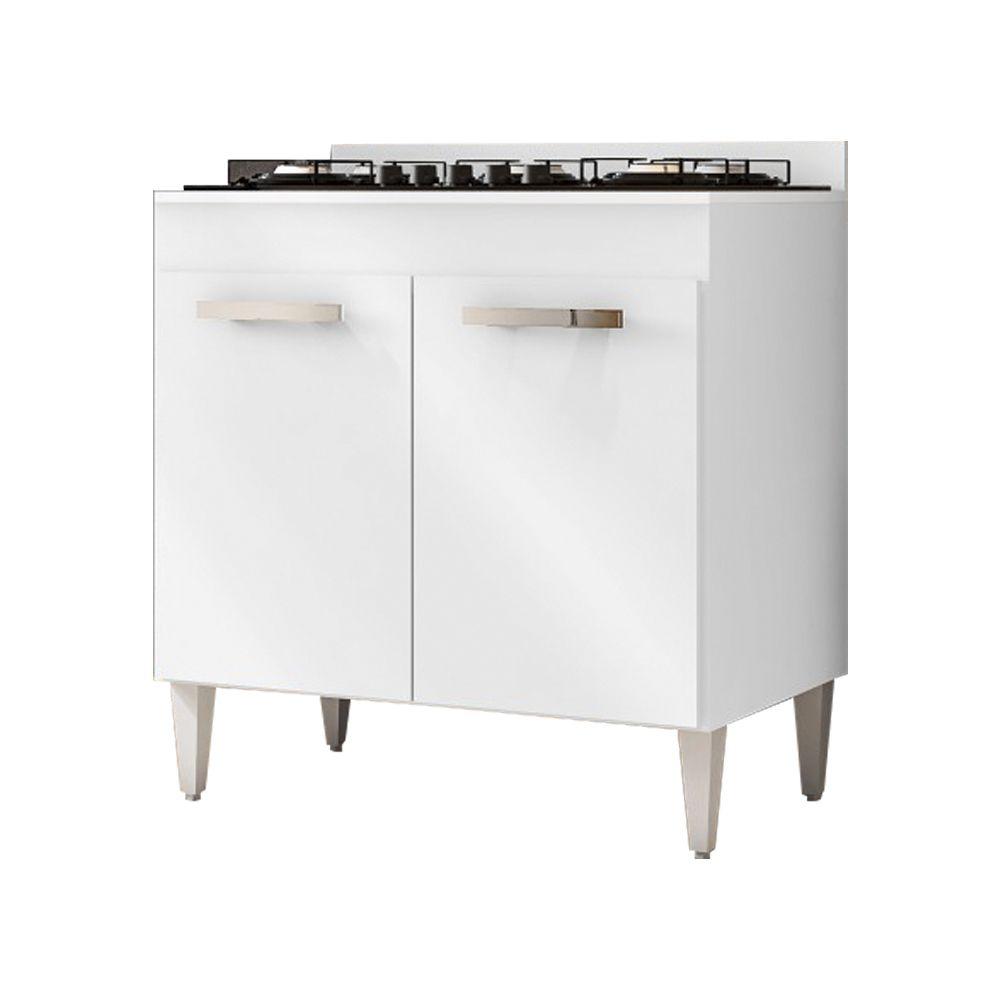 Balcão de Cozinha Cooktop 2 Portas Roma - Lumil Móveis