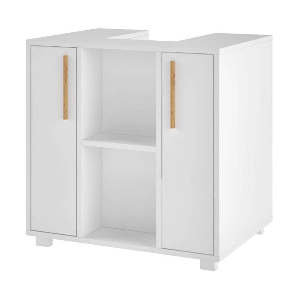 Balcão Gabinete de Pia para Banheiro Versa BBN08 2 Portas - BRV