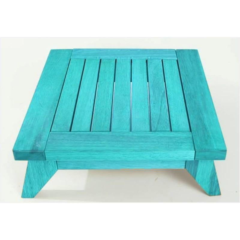 Banco Meditação Zen Stain Azul - Mão & Formão