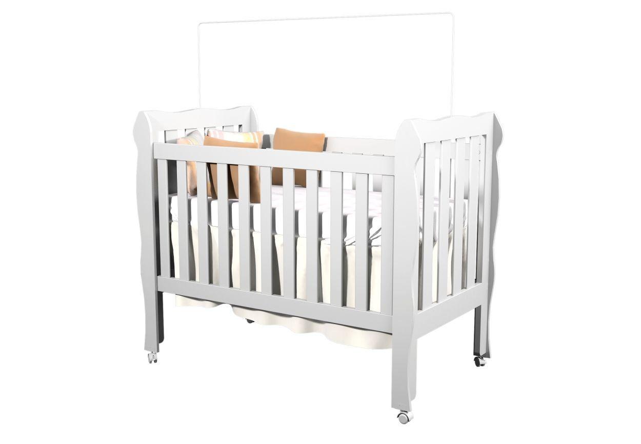 Berço Mini Cama Lila 3 em 1 - Carolina Baby
