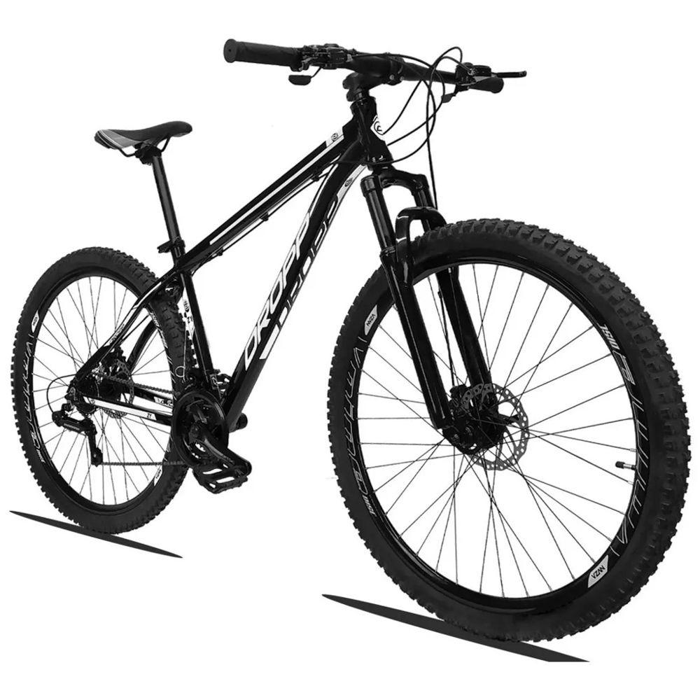 Bicicleta Quadro 19 Aro 29 Alumínio 21 Marchas Freio Disco Z1 - Dropp
