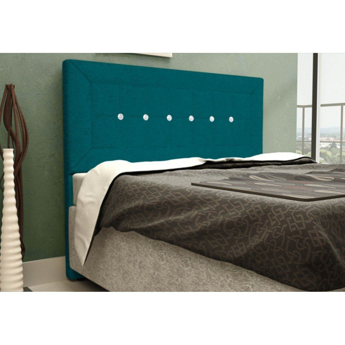 Cabeceira Para Cama Casal Box 140 cm Vegas - JS Móveis