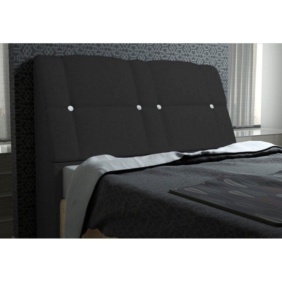 Cabeceira Para Cama Casal Box 160 cm Itália - JS Móveis