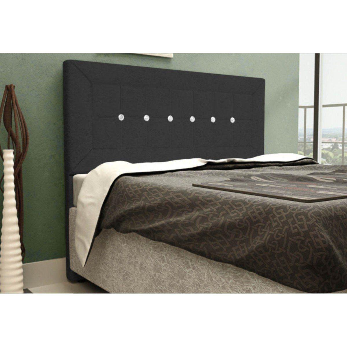 Cabeceira Para Cama Casal Box 160 cm Vegas - JS Móveis