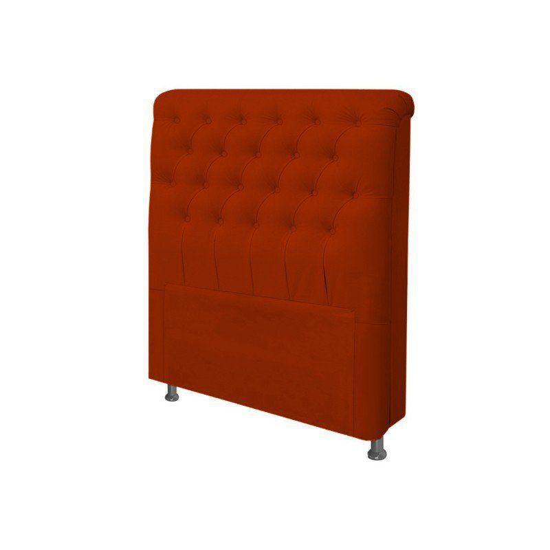 Cabeceira Paris Para Cama Box Solteiro 100 cm Suede - JS Móveis