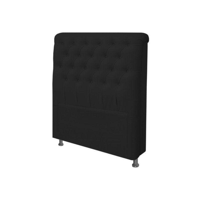 Cabeceira Paris Para Cama Box Solteiro 90 cm Suede - JS Móveis