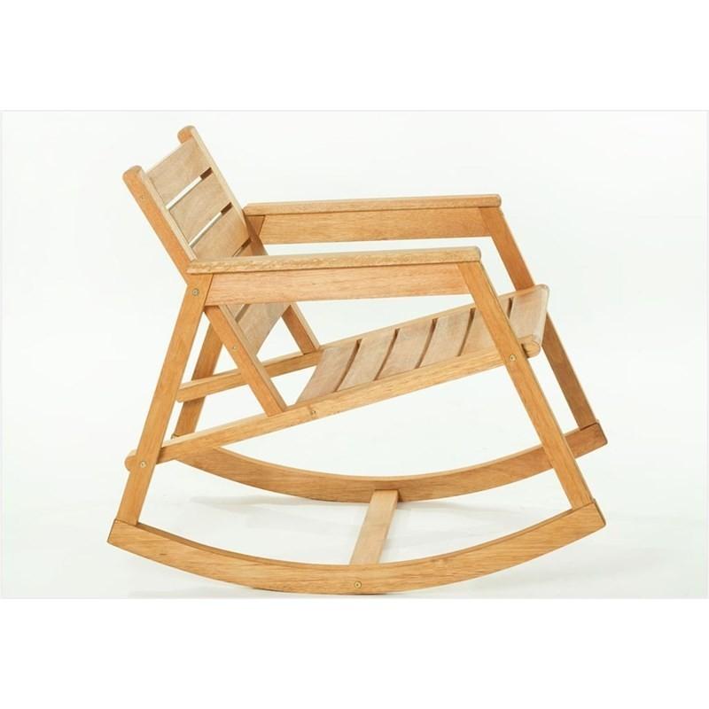 Cadeira de Balanço Janis Jatobá - Mão & Formão
