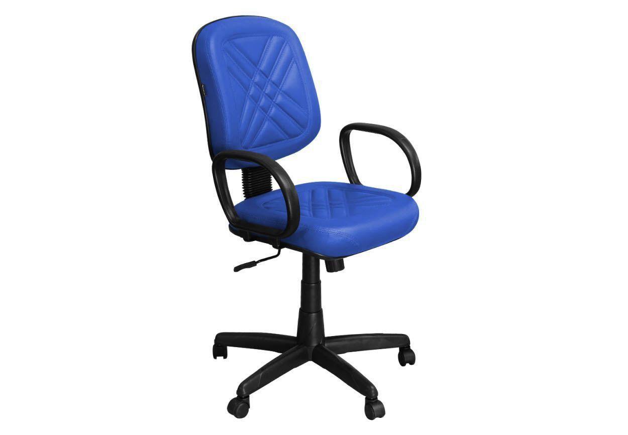 Cadeira de Escritório PD-01GPBP Diretor Giratória com Costura - Pethiflex
