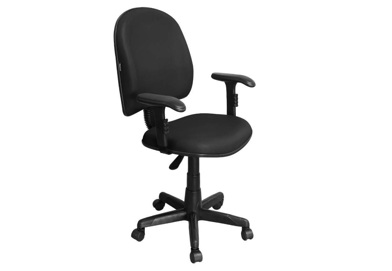 Cadeira de Escritório Excellence PE01 Executiva Giratória Braços Reguláveis - Pethiflex