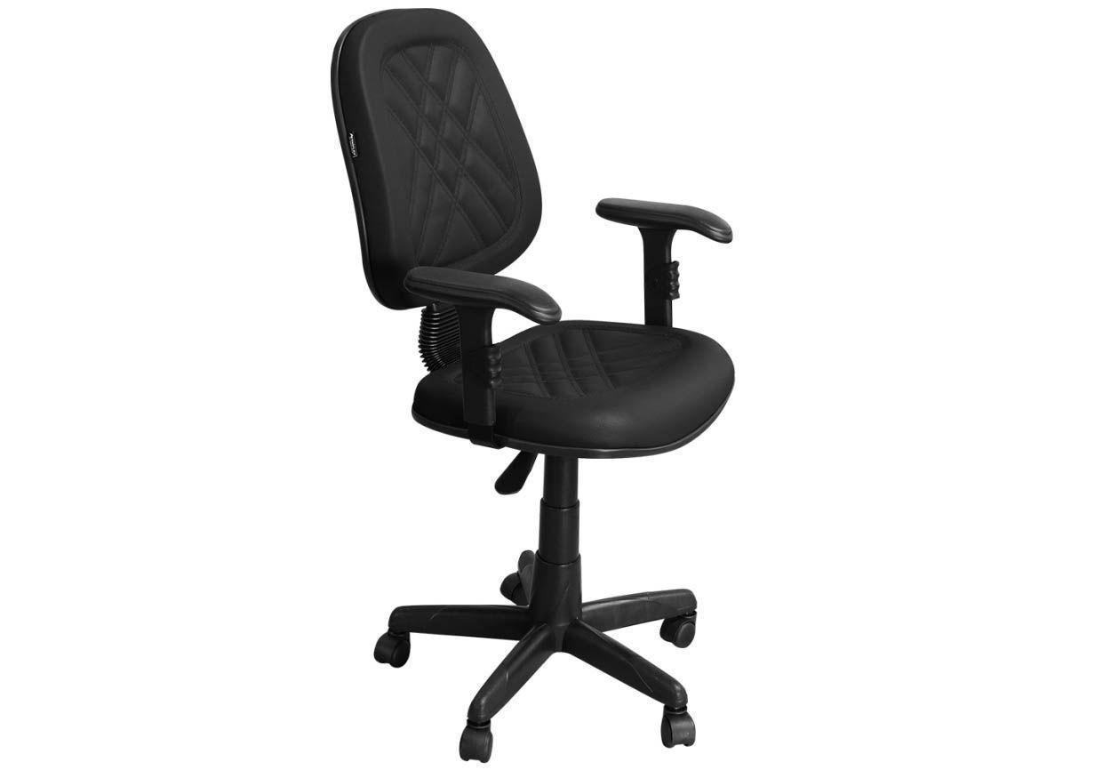 Cadeira de Escritório PS02 Executiva Giratória com Costura - Pethiflex