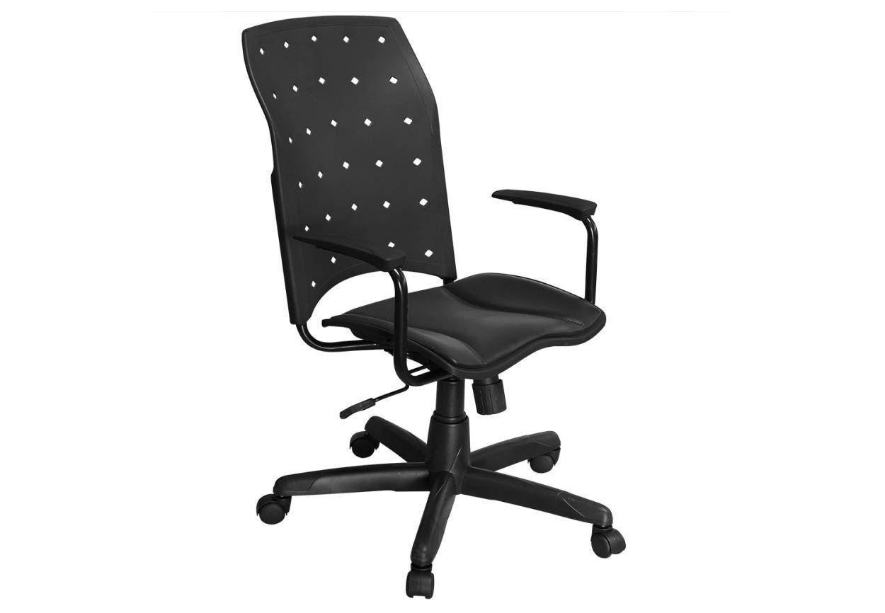 Cadeira de Escritório Presidente Iso Giratória - Pethiflex
