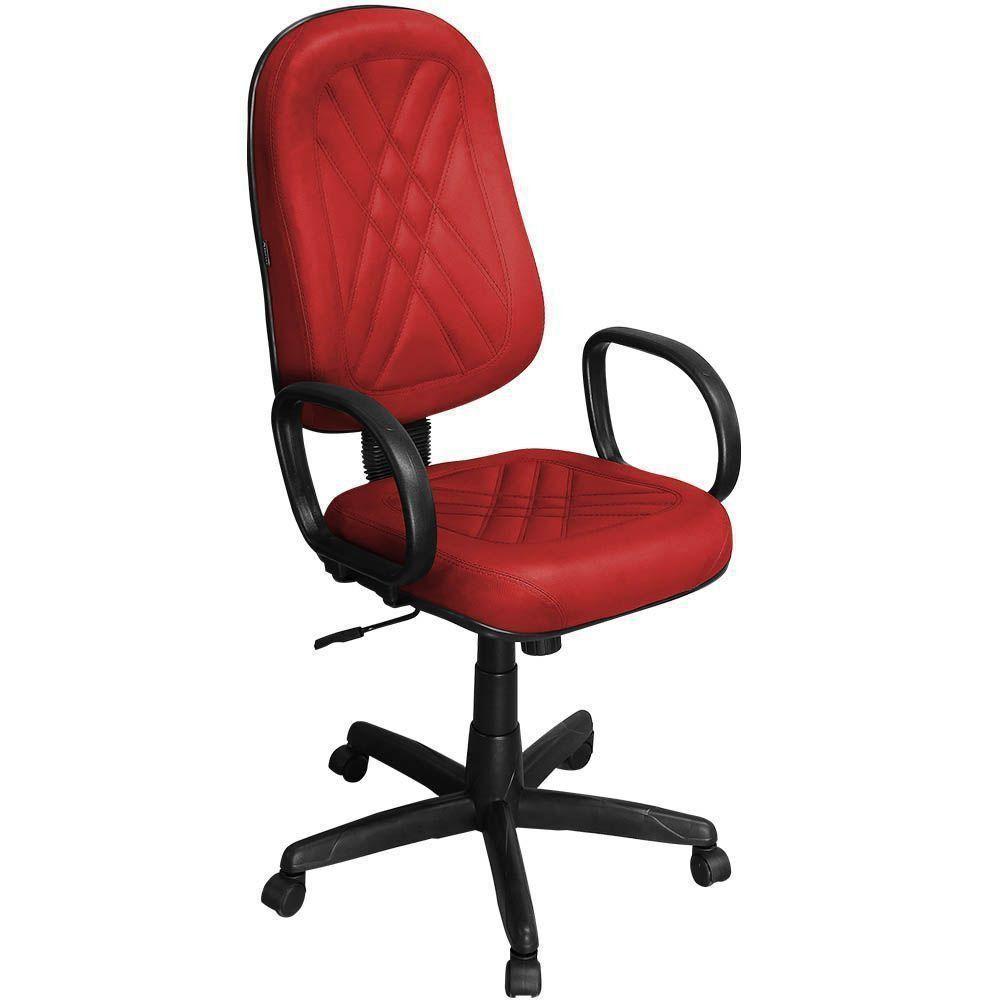 Cadeira de Escritório Presidente PP-02GPBP Giratória com Costura - Pethiflex