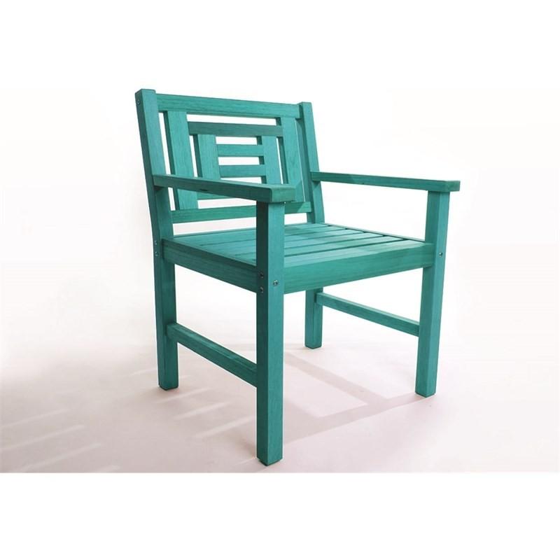 Cadeira Echoes Stain Azul - Mão & Formão