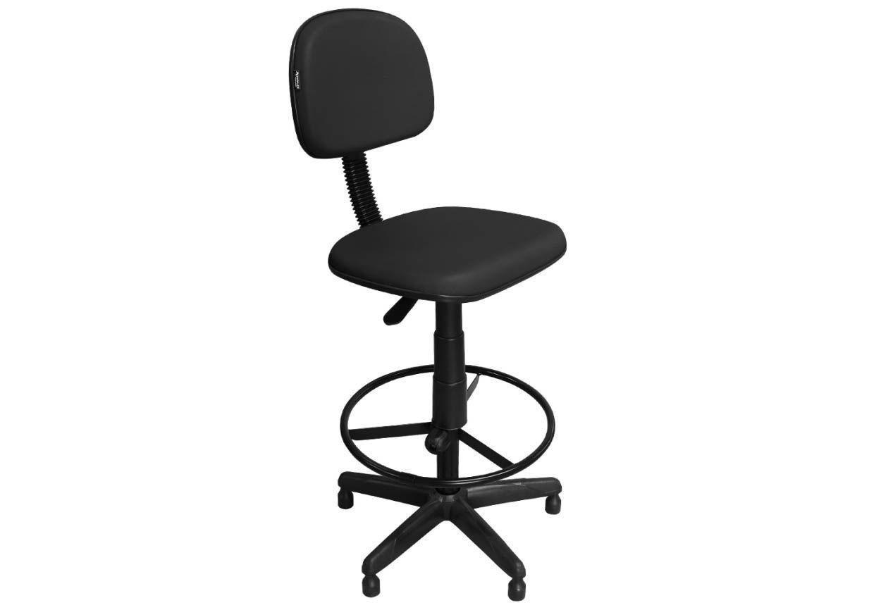 Cadeira Recepção Caixa Alta CSX-02 Giratória - Pethiflex