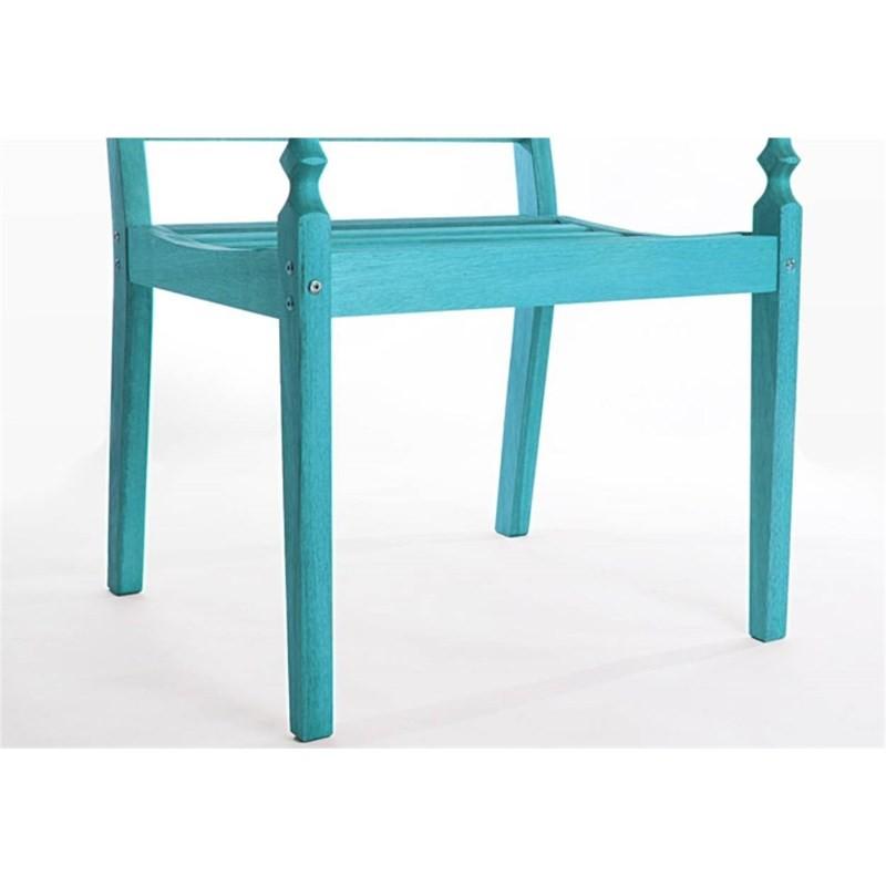 Cadeira Varanda 100% em Madeira Azul - Mão & Formão