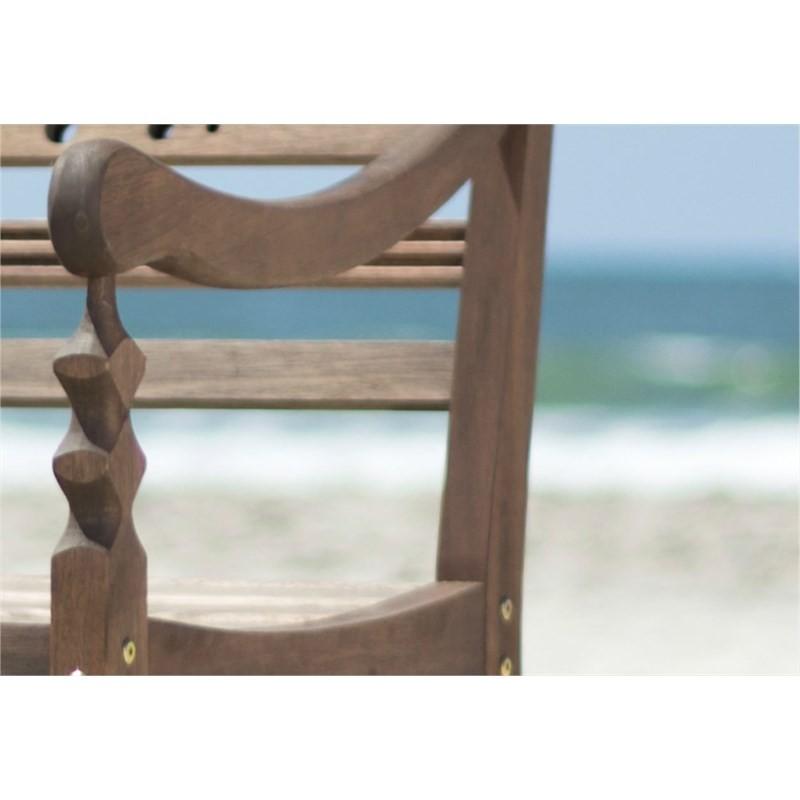 Cadeira Varanda 100% Madeira Nogueira - Mão & Formão