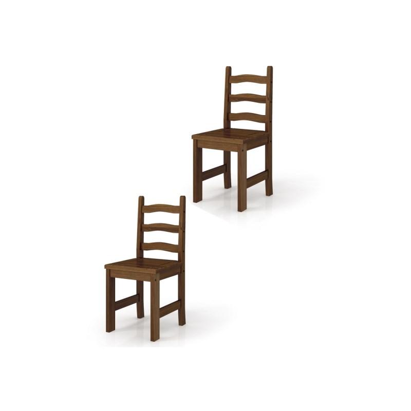 Conjunto de Cadeiras Imperial 9220 Imbuia - MPO