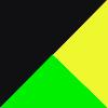 Preto/Verde/Amarelo