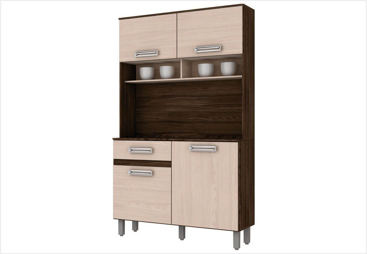 Cozinha Compacta B109 4 Portas - Briz