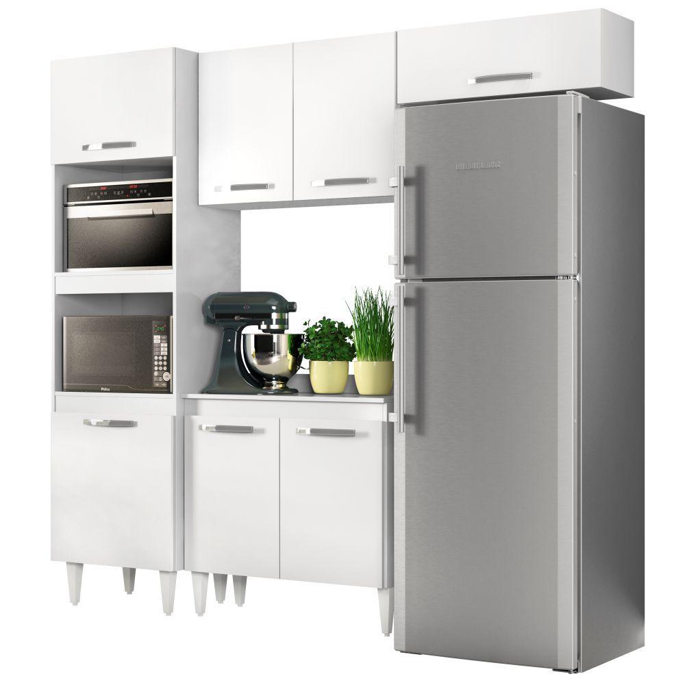 Cozinha Modulada Composição 2 com 4 Módulos - Lumil Móveis