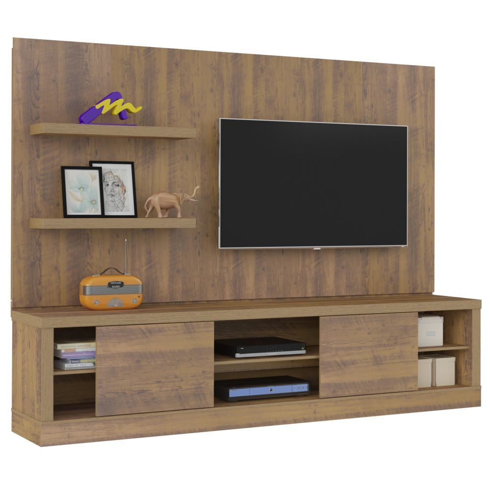 Estante Home Theater Boss 2 Portas de Correr - Artely