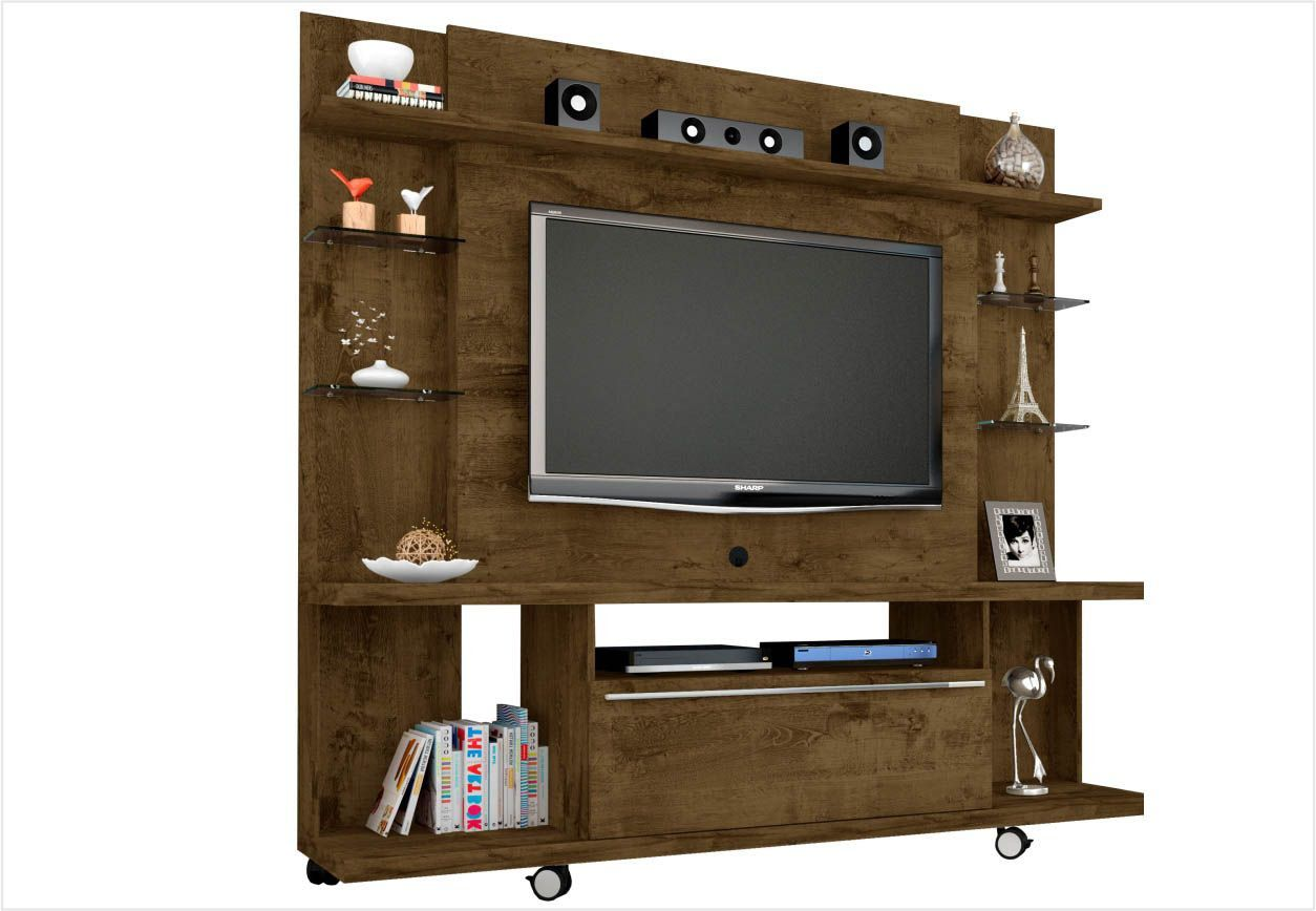 Estante Home Theater New Torino para TV até 55 Polegadas - Bechara