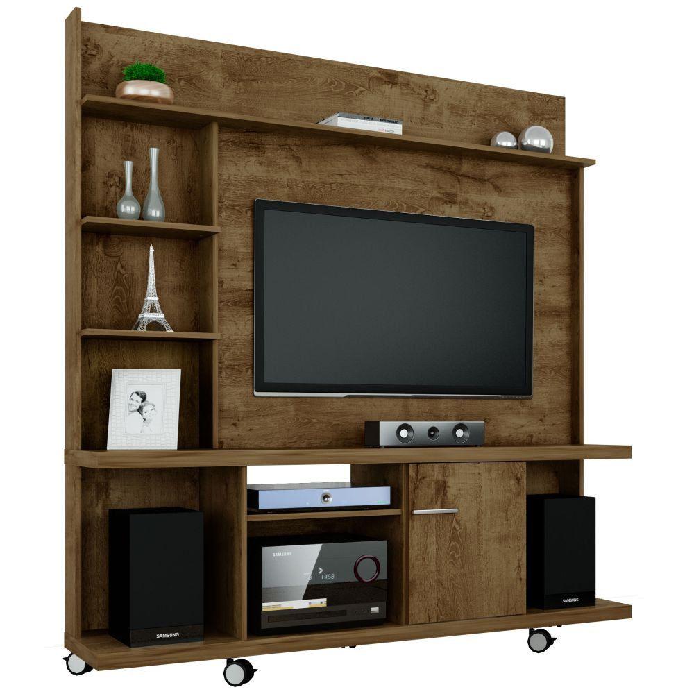 Estante Home Theater Para TV até 47 Pol. Taurus 1 Porta - Bechara