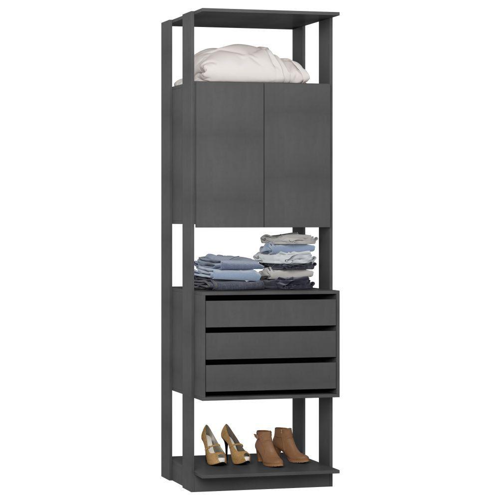 Guarda Roupa Closet Clothes 2 Portas 1006 - BE Mobiliário