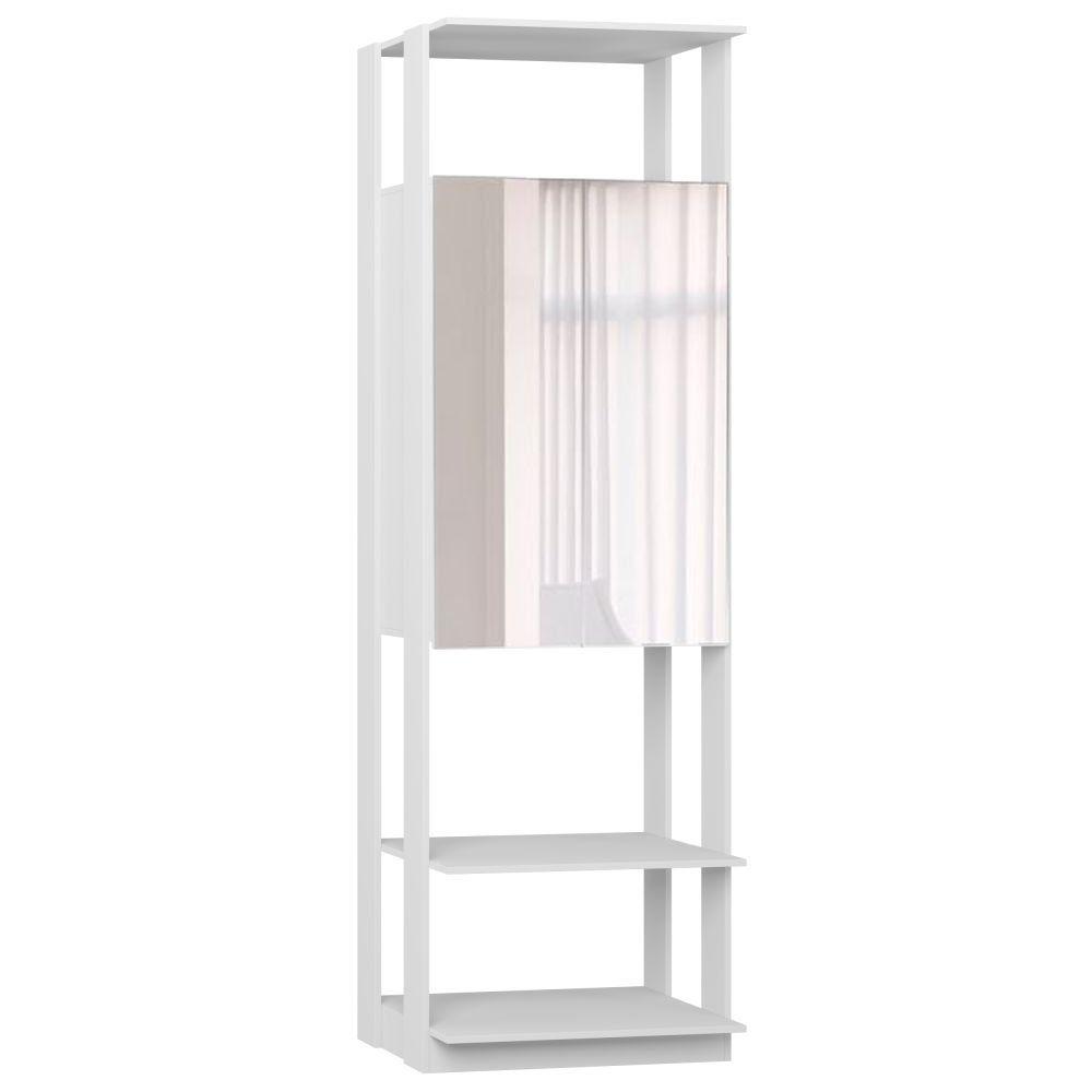 Guarda Roupa Closet Clothes 2 Portas com Espelho 1007 - BE Mobiliário