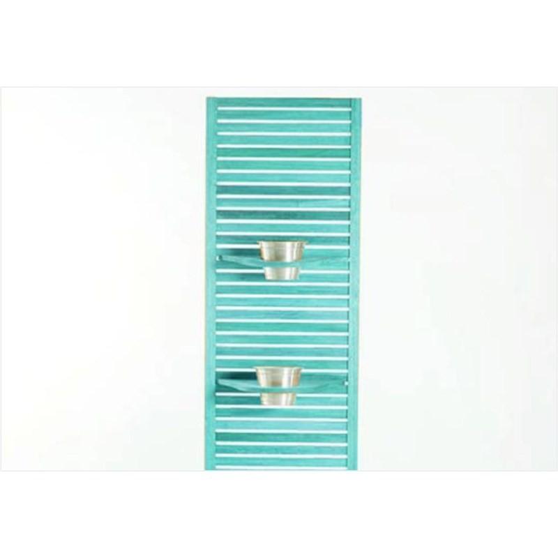 Jardineira Completa Zen Estreita com Almofada Cru 01.237 Stain Azul - Mão & Formão