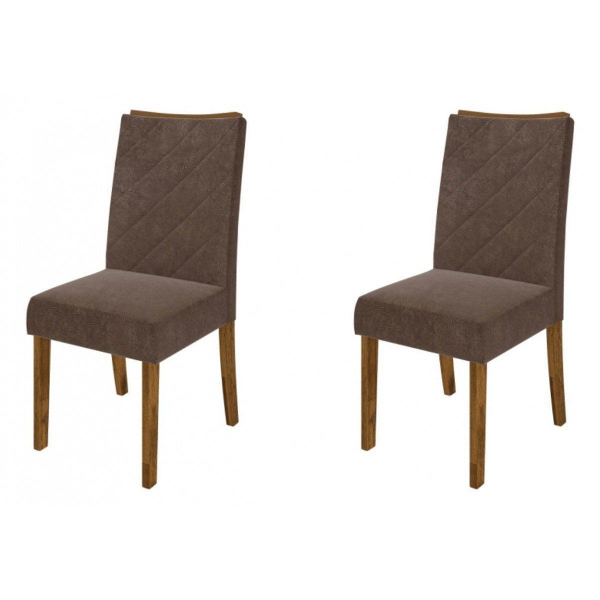 Kit 2 Cadeiras Golden para Sala de Jantar Demolição - DJ Móveis