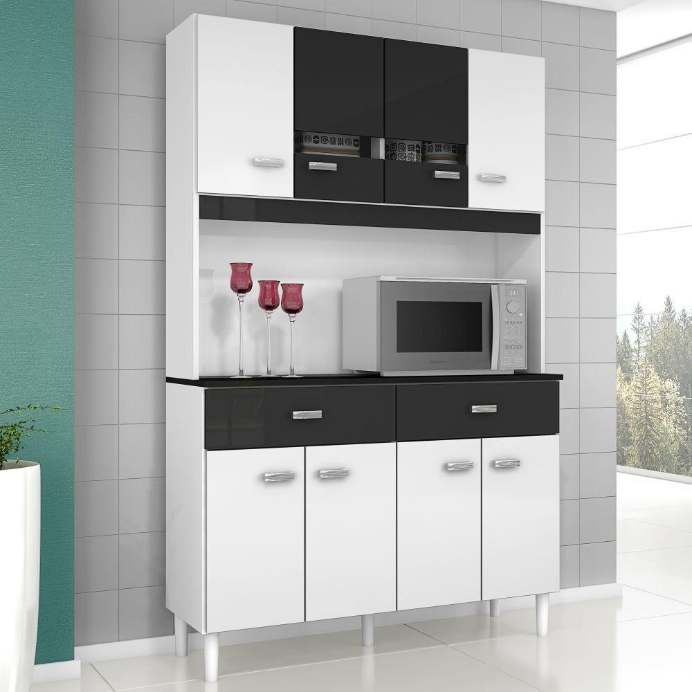 Kit Cozinha Manu Compacta 08 Portas - Poquema