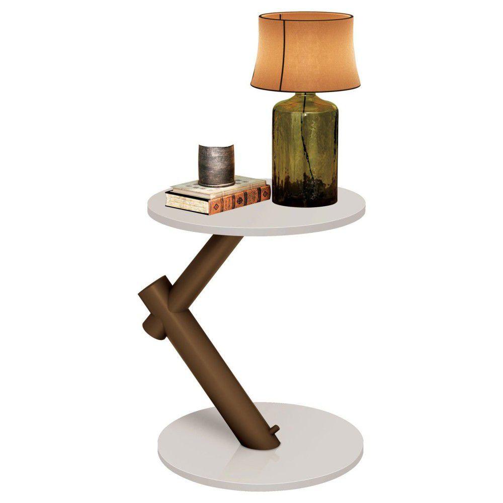 Mesa de Apoio Lateral Wood - EDN Móveis