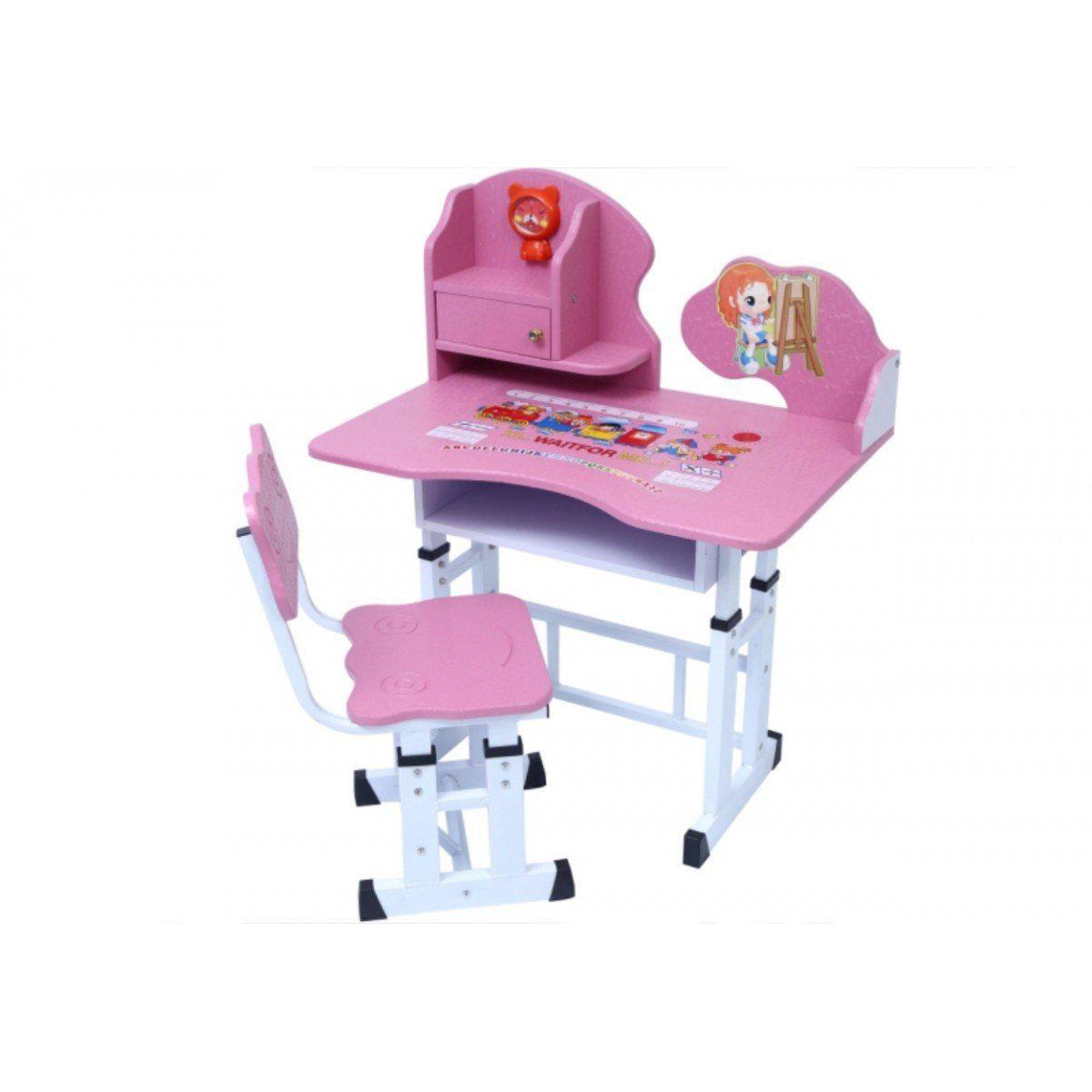 Mesa e Cadeira Infantil Smart com Regulagem de Altura - Facthus
