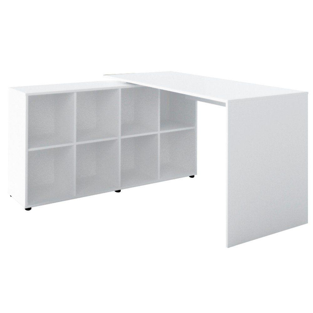 Mesa Escrivaninha para Computador Notebook Nero - Artany