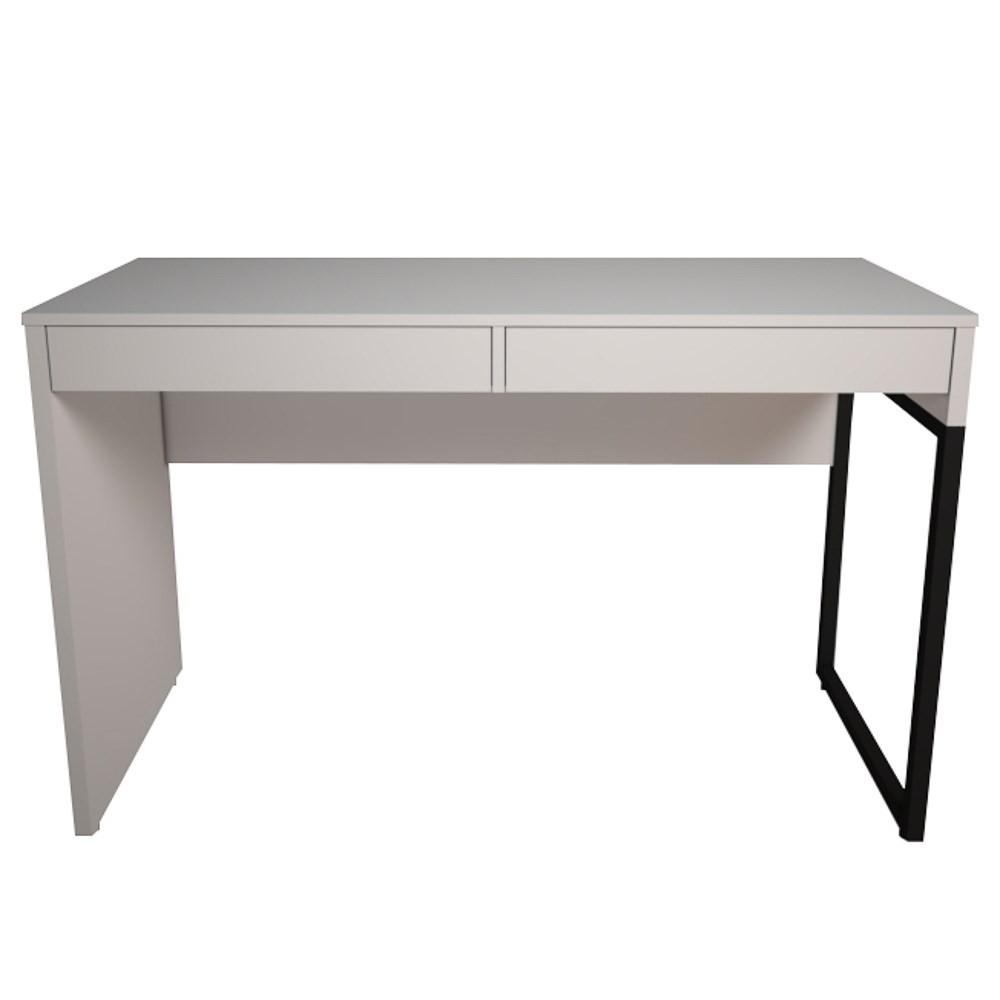 Mesa Para Computador Escrivaninha 2 Gavetas Desk - Fit Mobel