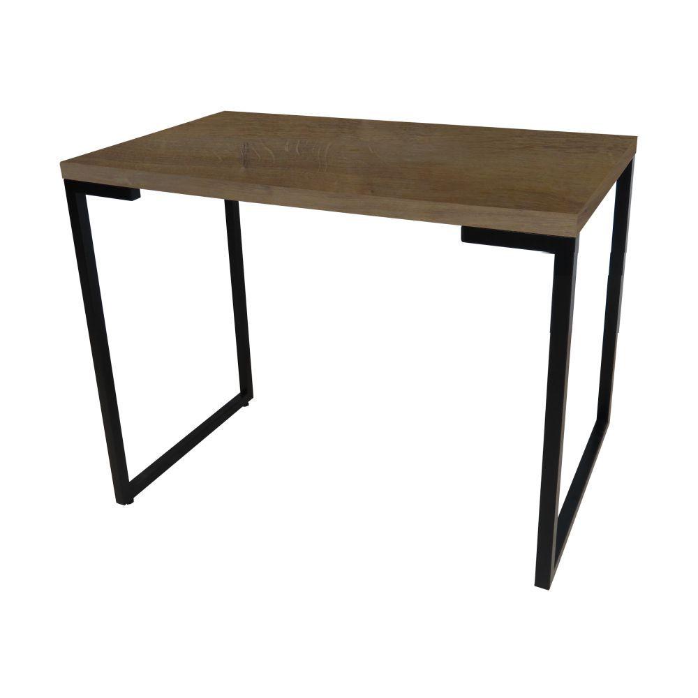 Mesa Para Computador Escrivaninha Porto 120cm Pés Metálicos - Fit Mobel