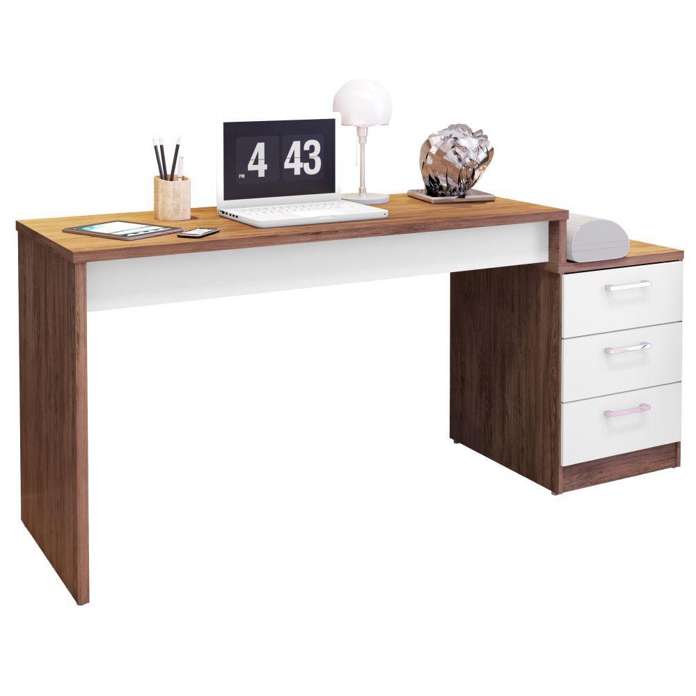 Mesa Para Computador Escrivaninha Versátil Petrópolis - Móveis Leão