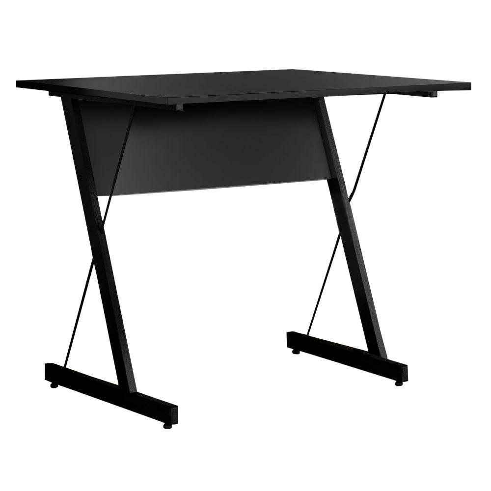 Mesa Para Computador Escrivaninha Zetta 90cm Pés Metálicos - Fit Mobel