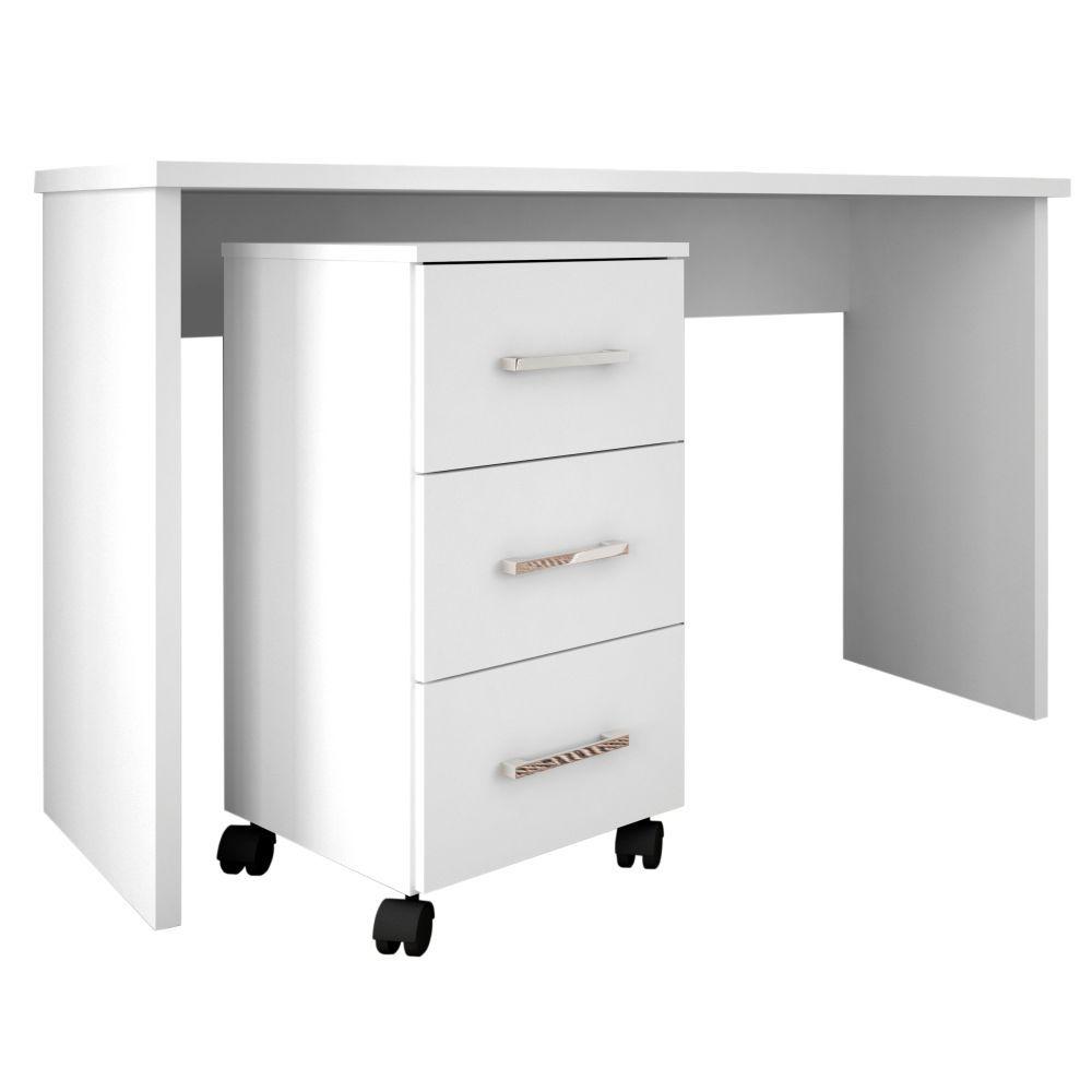 Mesa Para Computador Gávea com Gaveteiro Pietra - Móveis Leão