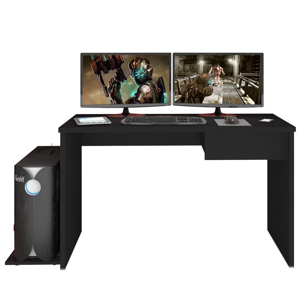 Mesa para Computador Notebook Desk Game DRX 8000 1 Gaveta M09 - Mpozenato