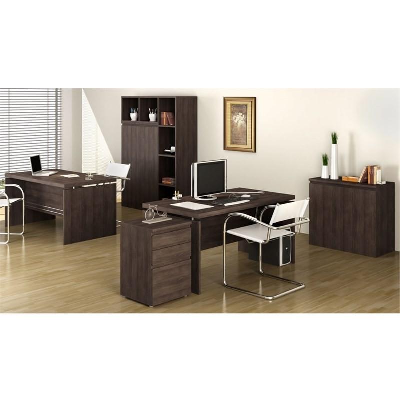 Mesa para Escritório Secretária 3120 Office 122 cm Carvalho - Kappesberg