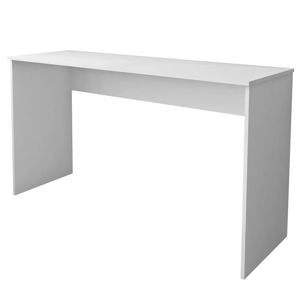Mesa para Notebook Computador Escrivaninha 136cm Slim A01 Branco - Mpozenato